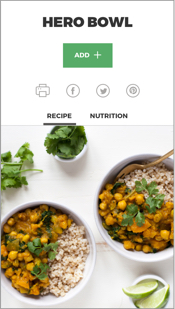 the plantpower meal planner